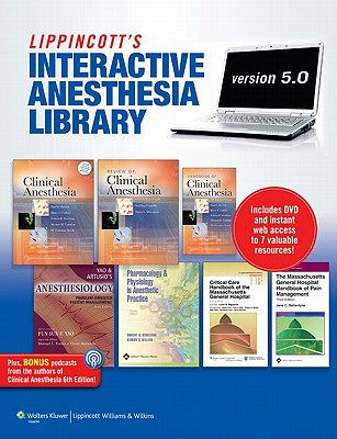 Lippincott's Interactive Anesthesia Library By Lippincott Williams & Wilkins (COR)